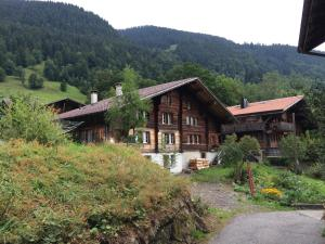 Accommodation in Saxeten