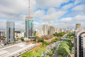 The Be Paulista, Апартаменты  Сан-Пауло - big - 3