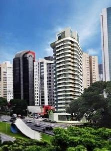 The Be Paulista, Апартаменты  Сан-Пауло - big - 8