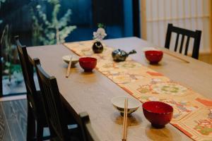 Riverside Takasegawa North, Holiday homes  Kyoto - big - 5