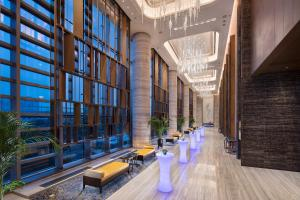 Hilton Jinan South Hotel & Residences, Hotely  Ťi-nan - big - 65