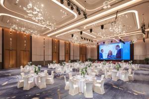 Hilton Jinan South Hotel & Residences, Hotely  Ťi-nan - big - 69