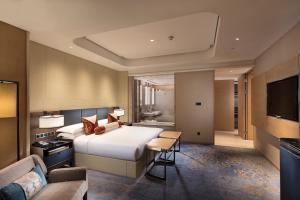 Hilton Jinan South Hotel & Residences, Hotely  Ťi-nan - big - 40