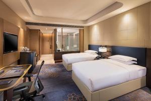 Hilton Jinan South Hotel & Residences, Hotely  Ťi-nan - big - 14
