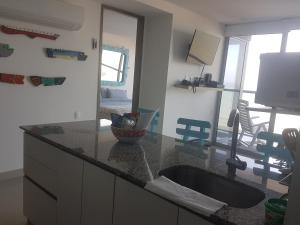 Morros City - Frente al mar, Apartmány  Cartagena - big - 34