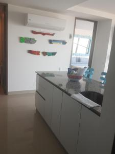 Morros City - Frente al mar, Apartmány  Cartagena - big - 37