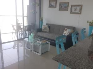 Morros City - Frente al mar, Apartmány  Cartagena - big - 40