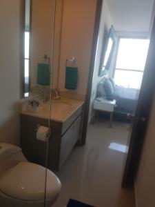 Morros City - Frente al mar, Apartmány  Cartagena - big - 47