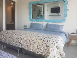 Morros City - Frente al mar, Apartmány  Cartagena - big - 48