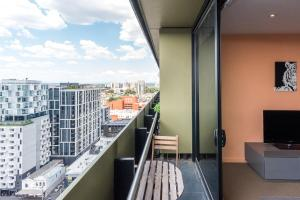 Melbournian Luxury Lifestyle 1BR, Apartments  Melbourne - big - 19