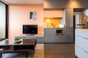 Melbournian Luxury Lifestyle 1BR, Apartments  Melbourne - big - 21