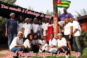 Hotel Napoleon Lagune, Hotely  Lomé - big - 116