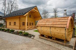 obrázek - Ferienhaus - Naturchalet am Wolfgangsee