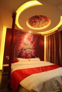Hostales Baratos - Thank Inn Chain Hotel Hebei Shijiazhuang Gaoyi Town West Fengzhong Road