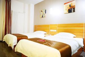 Auberges de jeunesse - Thank Inn Chain Hotel Zhangjiakou Huailai County Shacheng Railway Station