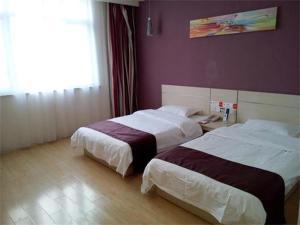 Hostels und Jugendherbergen - Thank Inn Chain Hotel Shandong Weifan Linqu Xinglong Road