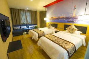 Hostels und Jugendherbergen - Thank Inn Chain Hotel Shandong Weifang Changyi Tianshui Road