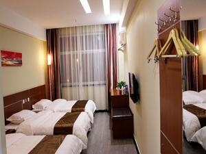 Hostels und Jugendherbergen - Thank Inn Chain Hotel Hebei Baoding Mancheng Taoyuan Street