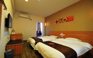 Hostales Baratos - Thank Inn Chain Hotel Guizhou Anshun Development Area Xihang Road
