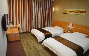 Hostels und Jugendherbergen - Thank Inn Chain Hotel Hebei Shijiazhuang Zanhuang Bus Station
