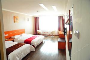 Hostels und Jugendherbergen - Thank Inn Chain Hotel Henan Xuchang Yanling Weilai Ave