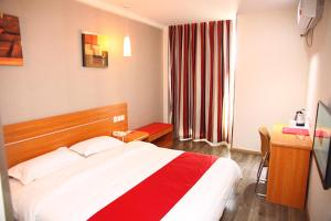 Hostales Baratos - Thank Inn Chain Hotel Hebei Hengshui North Ronghua Ave