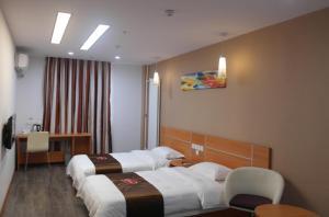 Hostels und Jugendherbergen - Thank Inn Chain Hotel Shandong Qingdao Development Zone West Jialingjiang Road