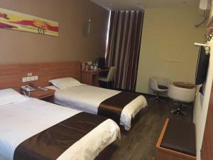 Thank Inn Chain Hotel Jiangsu Xuzhou Jiawang Century Square, Hotely  Quanhe - big - 2