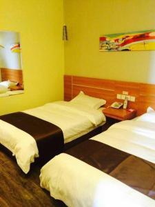 Thank Inn Chain Hotel Jiangsu Xuzhou Jiawang Century Square, Hotely  Quanhe - big - 3