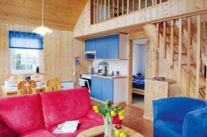Regenbogen Ferienanlage - skandinavisches Ferienhaus - [#69255], Dovolenkové domy  Boltenhagen - big - 1