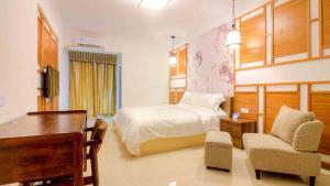 Guangzhou Bin Ke International Apartment Pazhou Branch, Appartamenti  Canton - big - 5