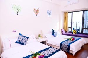 Guangzhou Bin Ke International Apartment Pazhou Branch, Appartamenti  Canton - big - 4