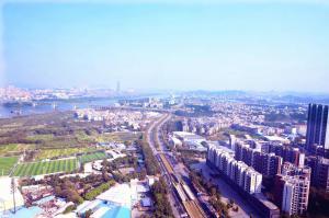 Guangzhou Bin Ke International Apartment Pazhou Branch, Apartmány  Kanton - big - 34
