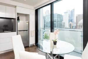 Relax in Luxury & Modern MELB 1BD, Apartments  Melbourne - big - 8
