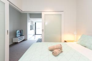 Relax in Luxury & Modern MELB 1BD, Apartments  Melbourne - big - 17