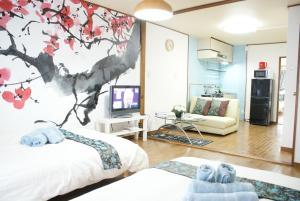 Sakura Apartemnt 0-13, Nyaralók  Oszaka - big - 16