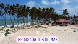 Pousada Tok do Mar, Гостевые дома  Rio do Fogo - big - 15