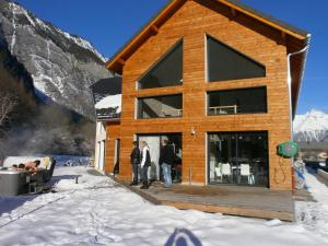 Location gîte, chambres d'hotes le mas d'oisans au pied de l'Alpe d'Huez via Bourg d'Oisans L'Etoile des Glaciers dans le département Isère 38