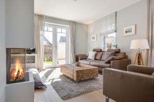 Wohnen und Mee(h)r App 1, Apartmanok  Wenningstedt - big - 40
