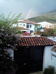 Casa colonial vacacional El refugio delos Virreyes, Prázdninové domy  Villa de Leyva - big - 26