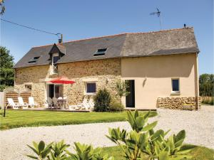 Three-Bedroom Holiday home Dourdain 06 - Saint-M'hervé