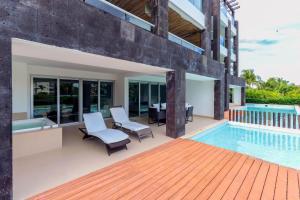 Ocean View Mareazul Condo Rental with Infinity Pool - Condo Agua Dulce, Apartmanok  Playa del Carmen - big - 2