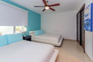 Ocean View Mareazul Condo Rental with Infinity Pool - Condo Agua Dulce, Apartmanok  Playa del Carmen - big - 19