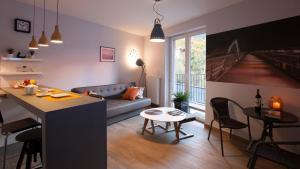 Nowoczesny Apartament nad Wisla