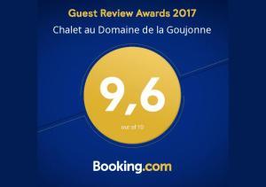 Chalet au Domaine de la Goujonne