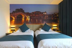 Tongxiang Wuzhen Shangjin Hotel, Hotels  Wujiaqiao - big - 12