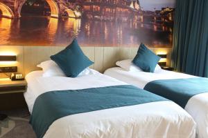 Tongxiang Wuzhen Shangjin Hotel, Hotels  Wujiaqiao - big - 23