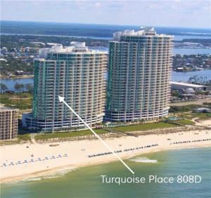 Turquoise Place 808D, Apartmanok  Orange Beach - big - 22