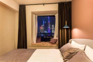 Wondroom Design Apartment (The Bund), Апартаменты  Шанхай - big - 13