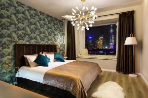 Wondroom Design Apartment (The Bund), Апартаменты  Шанхай - big - 16